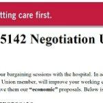 Contract Negotiations Update
