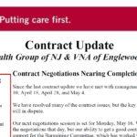 Status of VNA Negotiations