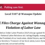 Union Files Labor Board Charge Against Wanaque