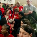 HPAE Joins Day of Action Rallies to Protect Our Health Care