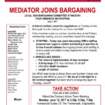 Local 5030 negotiations update: mediator joins bargaining