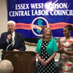 HPAE's Jean Pierce Honored by Essex-West Hudson Labor Council
