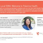 New Health Program Now Available to Local 5094 Members