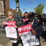 HPAE Locals at UH Kick Off Contract Campaign with Unity Rally and Picket