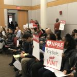 Rutgers Union Coalition Confronts Barchi at Board of Governors Meeting