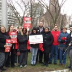 Students, Faculty and Staff Rally for Fairness At Rutgers: Call on Board of Governors for union contracts, more equitable campus