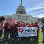 NJ Nurses Joined National Action Calling for Safe Nurse Staffing Levels