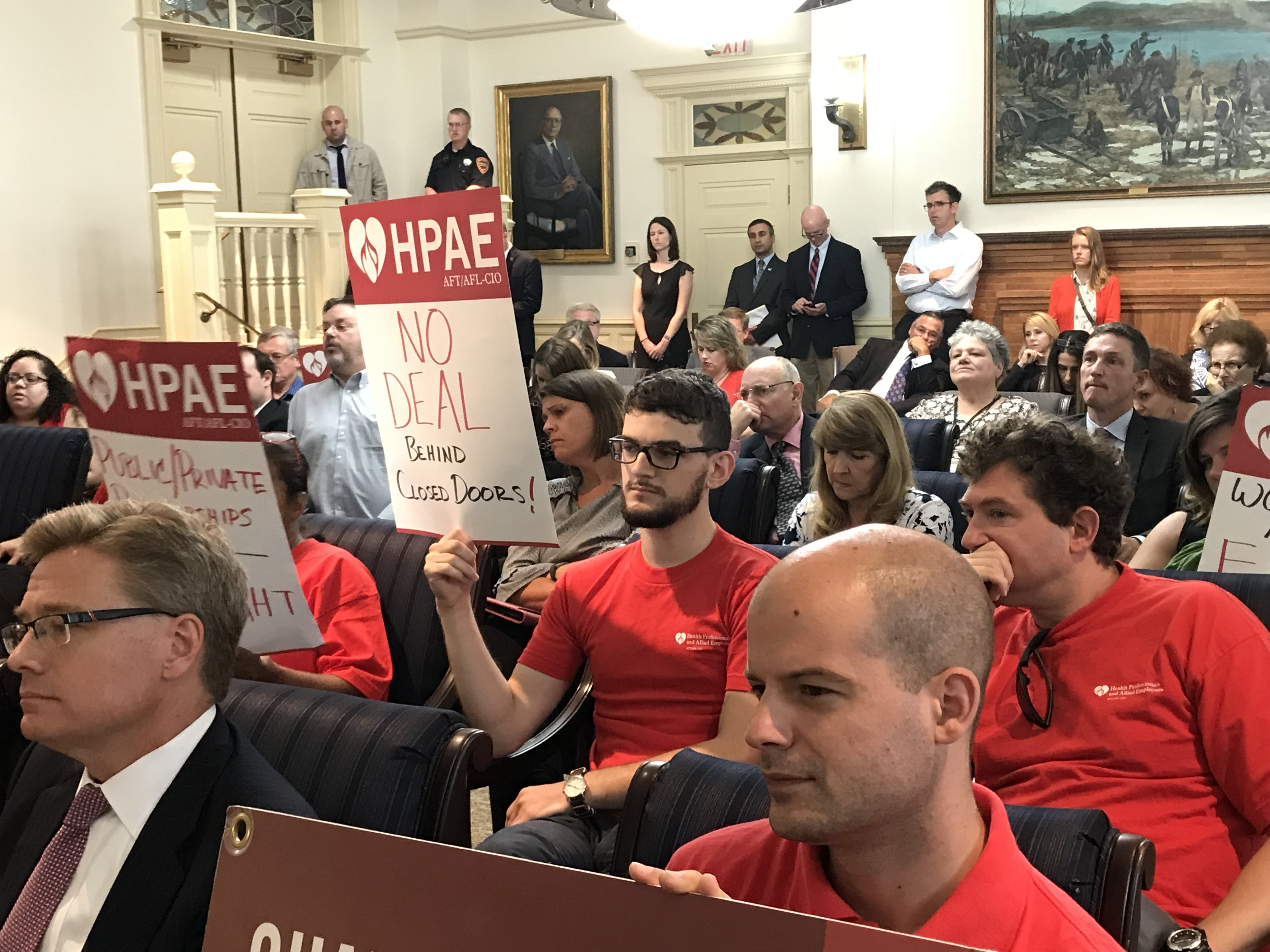 Labor Unions Demand Transparency, Accountability of Rutgers