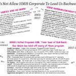 Don't Let HMH Corporate Lead Us Backwards
