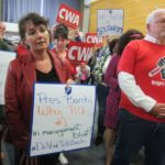 Rutgers workers rally in New Brunswick for contract negotiations